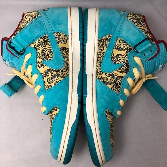 separation shoes a483f dfb96 Nike SB Dunk Mid Peacock size 10.5 no box. M5a74fe458df47032beb292b6